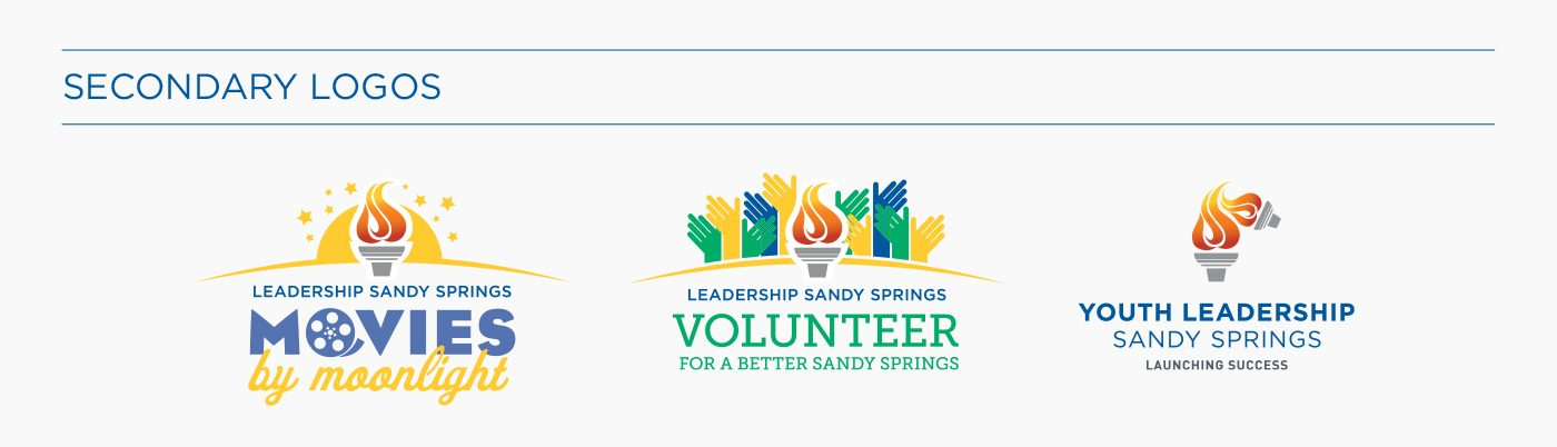Leadership Sandy Springs Rebranding