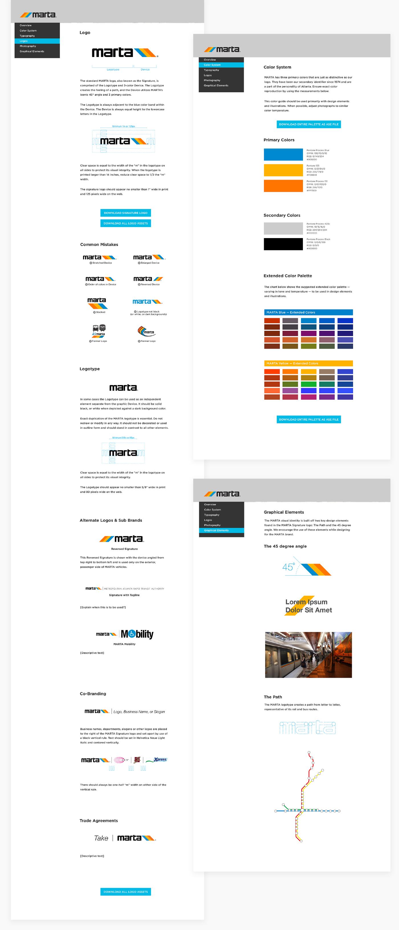 Brand Guidelines (website)