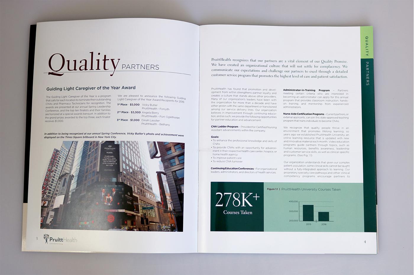 Quality Report Design