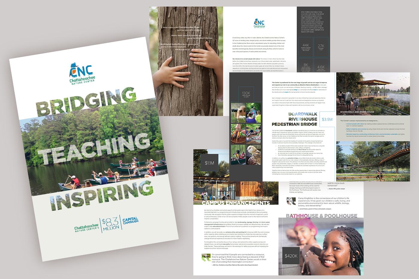 Chatahoochee Nature Center Rebranding